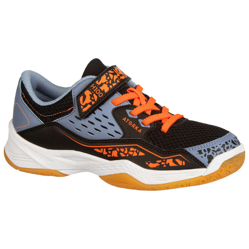 APPAREL SHOES KIDS HANDBALL Andebol - Calçado autoaderente H100 CR ATORKA - Sapatilhas de Andebol