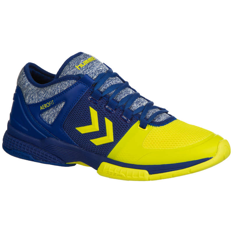 APPAREL SHOES MEN HANDBALL Handball - HB200 - Blue/Yellow HUMMEL - Handball