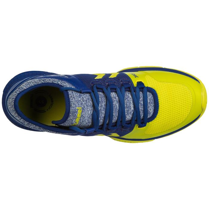 Chaussures de handball aerocharge HB200 speed 3.0 bleu jaune