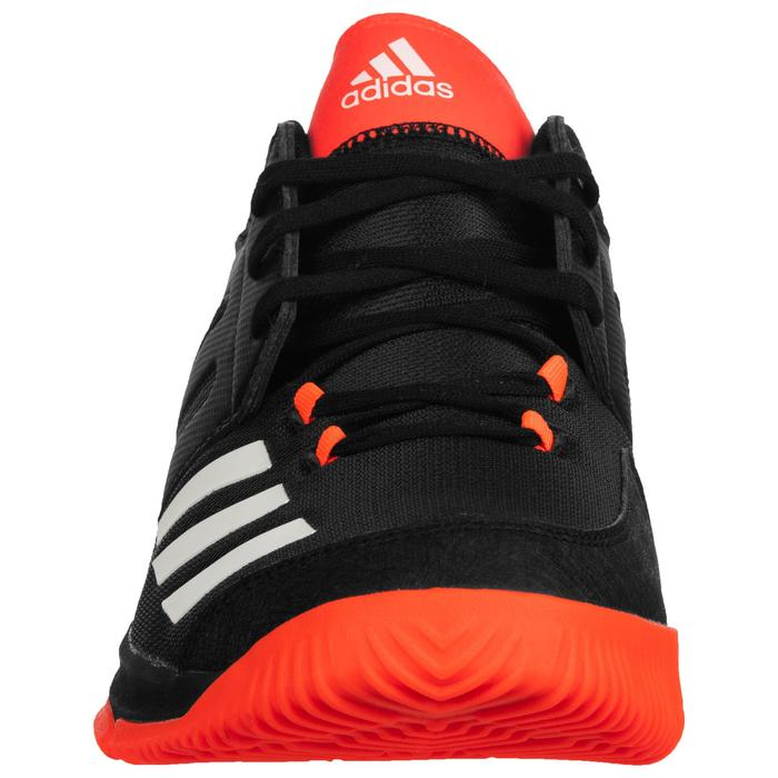 Chaussures de handball adulte essence noir orange