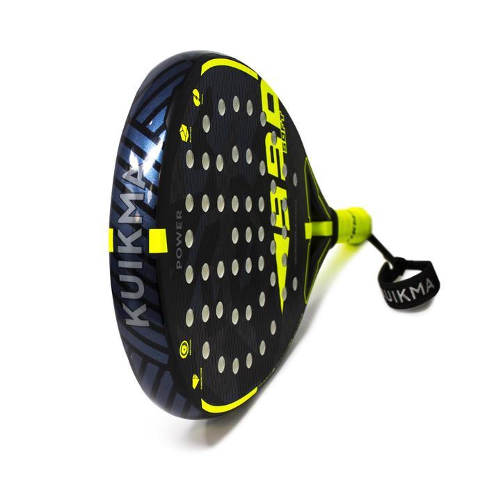 Padelracket PR 990 Power Soft zwart/geel