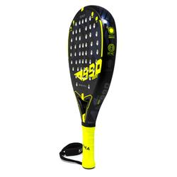 Pala Padel Kuikma PR990 Power Soft Adulto Negro Amarillo