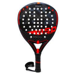 Padel racket PR 990 Power Soft zwart/rood