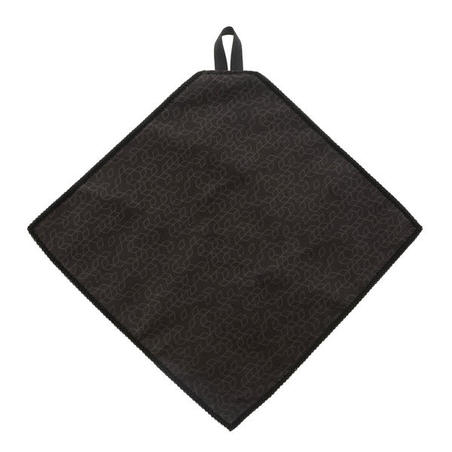 CLEAN 100 Microfibre Cleaning Cloth - Dark Grey And Yellow