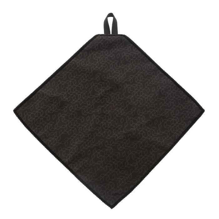 Toallita de limpieza microfibra CLEAN 100 gris oscuro y amarillo