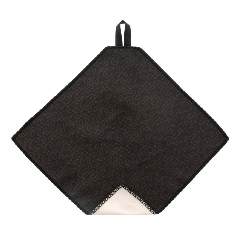 Microfibre Cleaning Cloth Clean100 -Dark Grey & Yellow