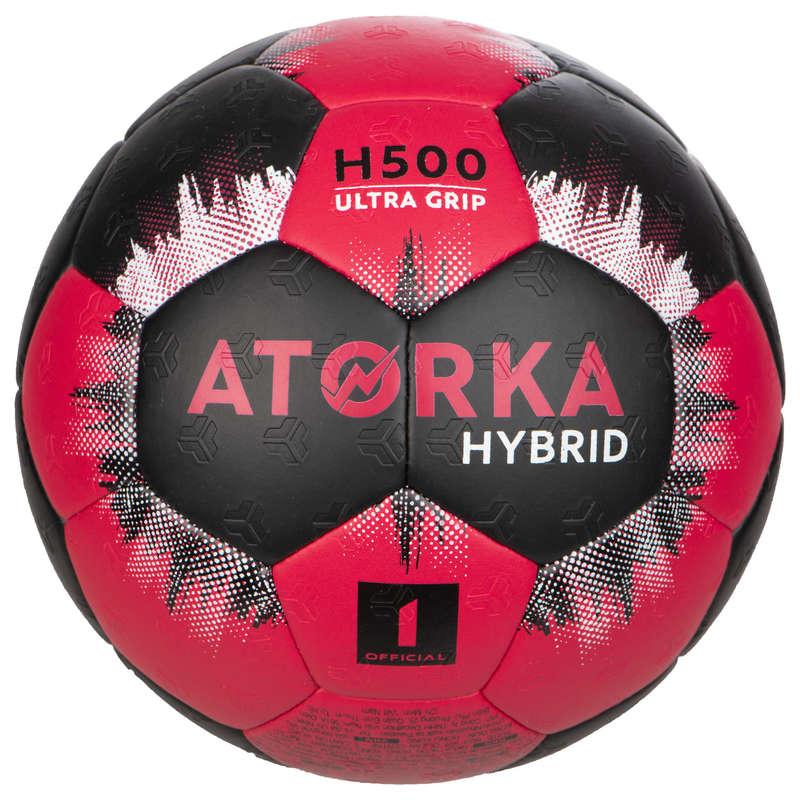 HÁZENÁ Házená - MÍČ H500 VEL. 1 ČERNO-RŮŽOVÝ ATORKA - Házenkářské míče
