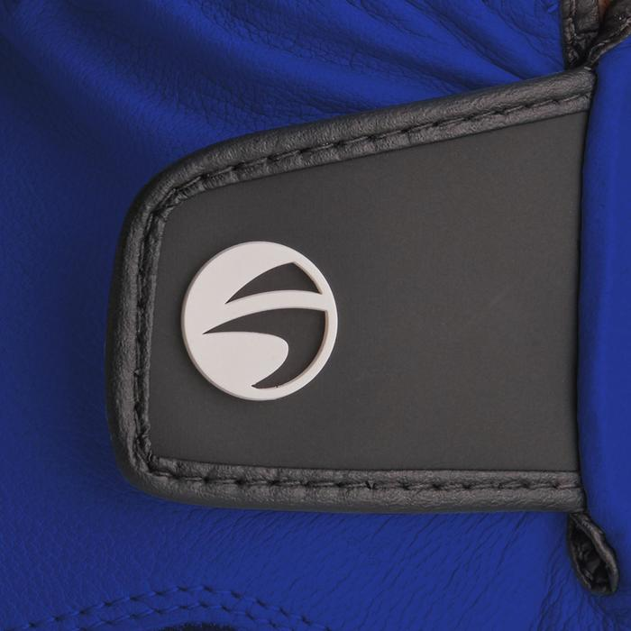 Gant de golf homme 500 confirmé et expert droitier bleu electrique