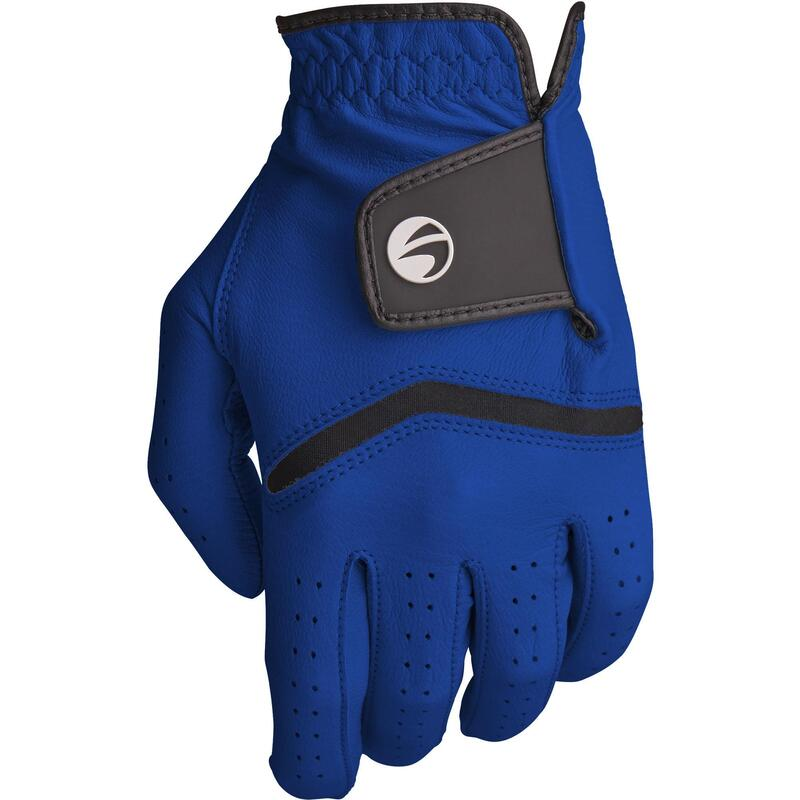 Men's 500 intermediate and advanced golf glove right-hander electric blue