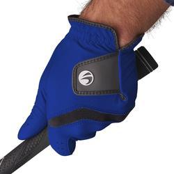 男款中階/進階高爾夫手套-右手持桿-電光藍