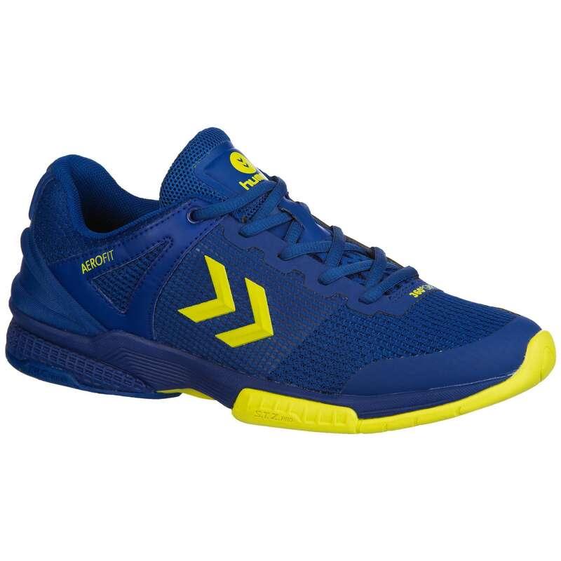 APPAREL SHOES MEN HANDBALL Handball - HB180 - Blue/Yellow HUMMEL - Handball
