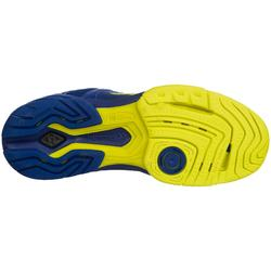 Handbalschoenen voor heren aerocharge 180 rely 3.0 blauw / geel