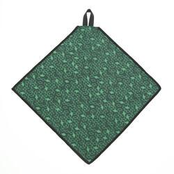 Brillenputztuch Clean 100 Mikrofaser grün