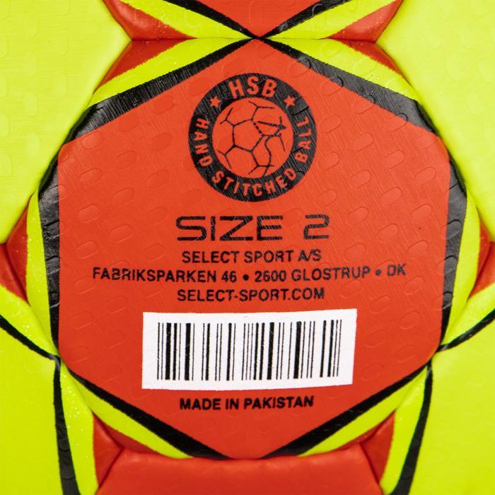 Handbal Supreme maat 2 rood / geel