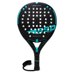 Padel racket PR990 Precision Soft zwart/blauw