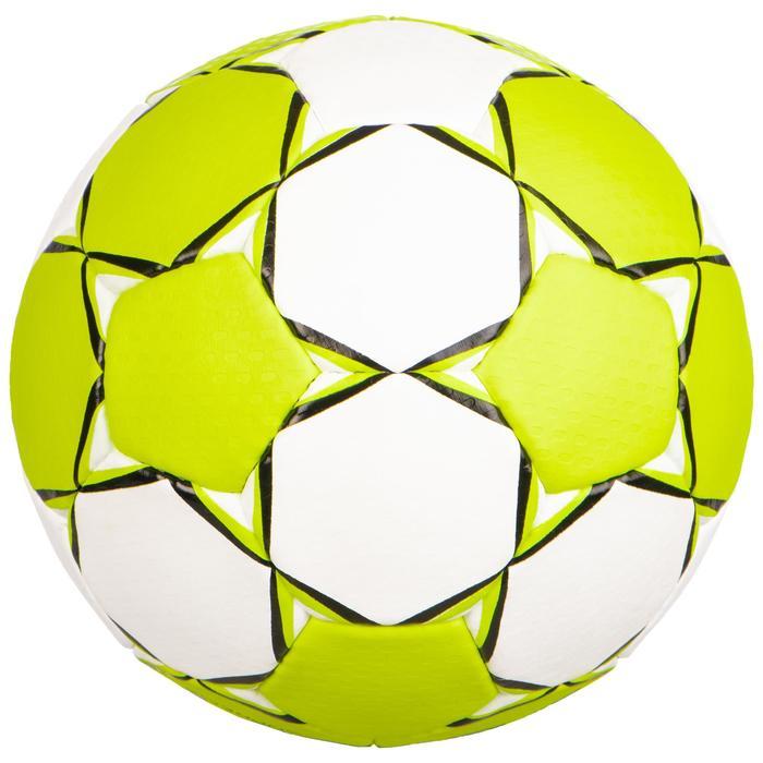 Balón de balonmano Select Supreme Talla 1 Amarillo Blanco