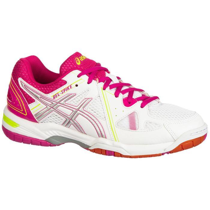 Volleybalschoenen Gel Spike voor dames wit en roze Asics