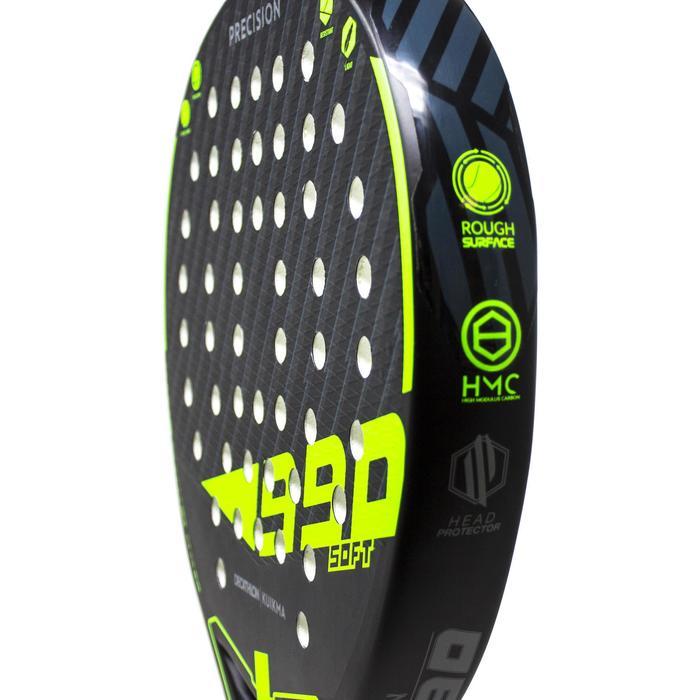 Padel racket PR 990 Precision Soft zwart/groen