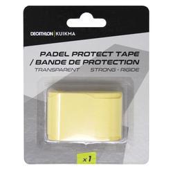 Padel racket beschermtape transparant