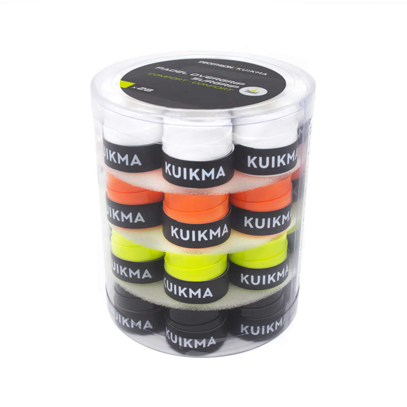 ACCESSORI PADEL Sport di racchetta - Overgrip padel multicolore x28 KUIKMA - PADEL