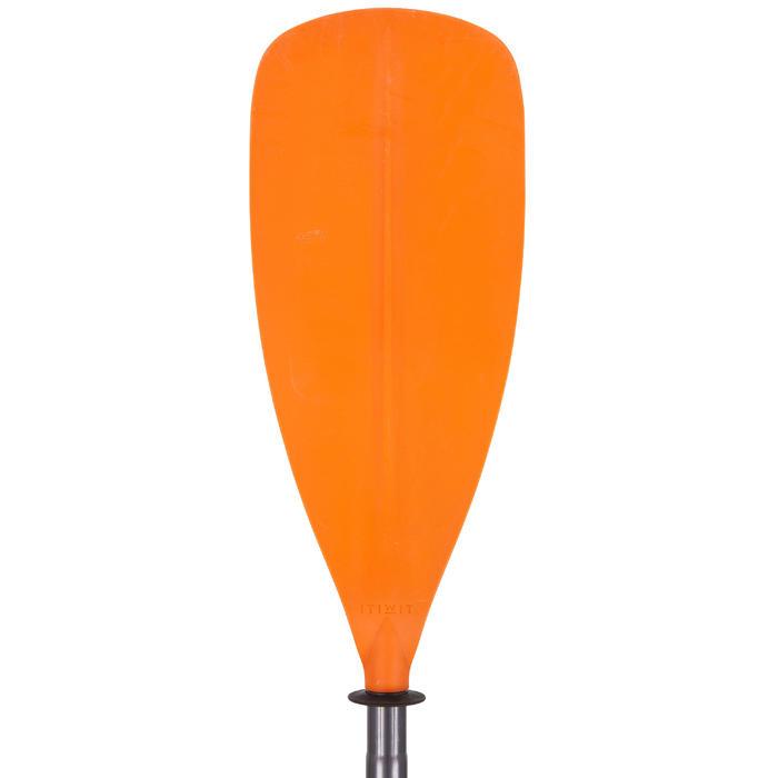 兩件式可調式對稱獨木舟划槳X100