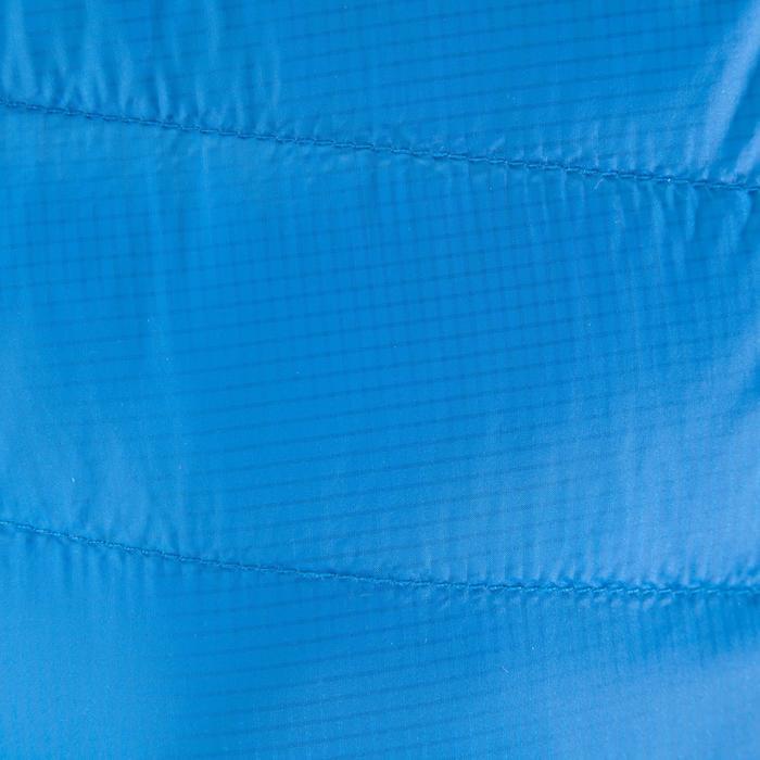Bergsteiger-Jacke Alpinism Light Daune Damen blau