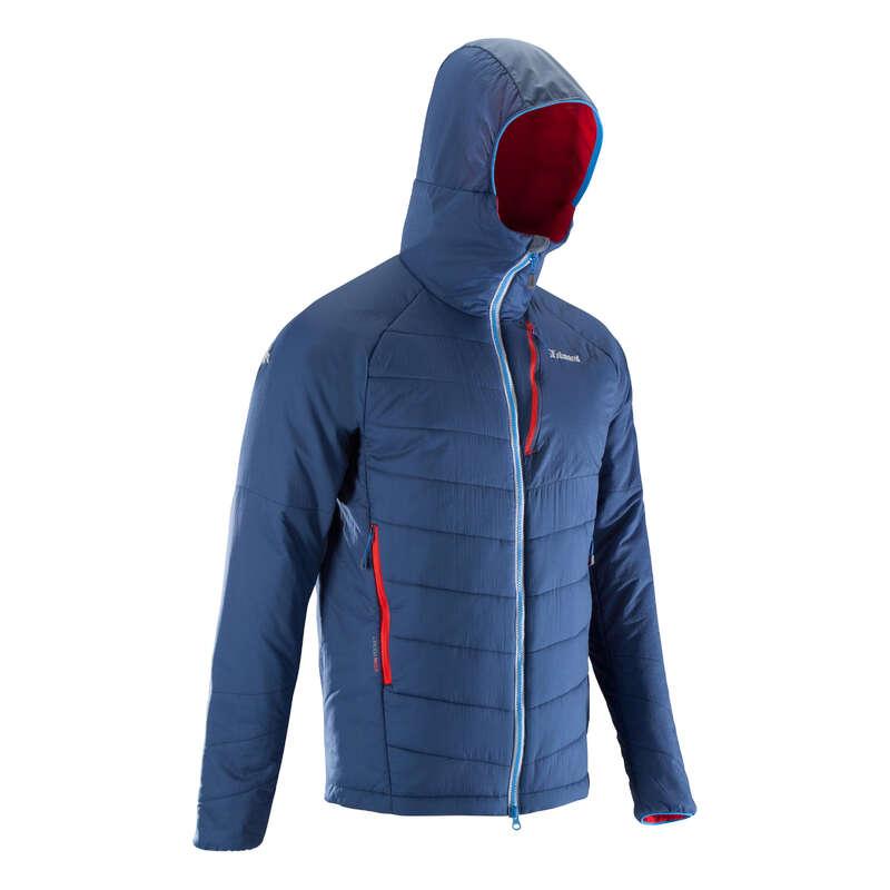 Classe réservée pour FIRST Skitouren - Wattierte Jacke Alpi blau/grau SIMOND - Skitouren Bekleidung