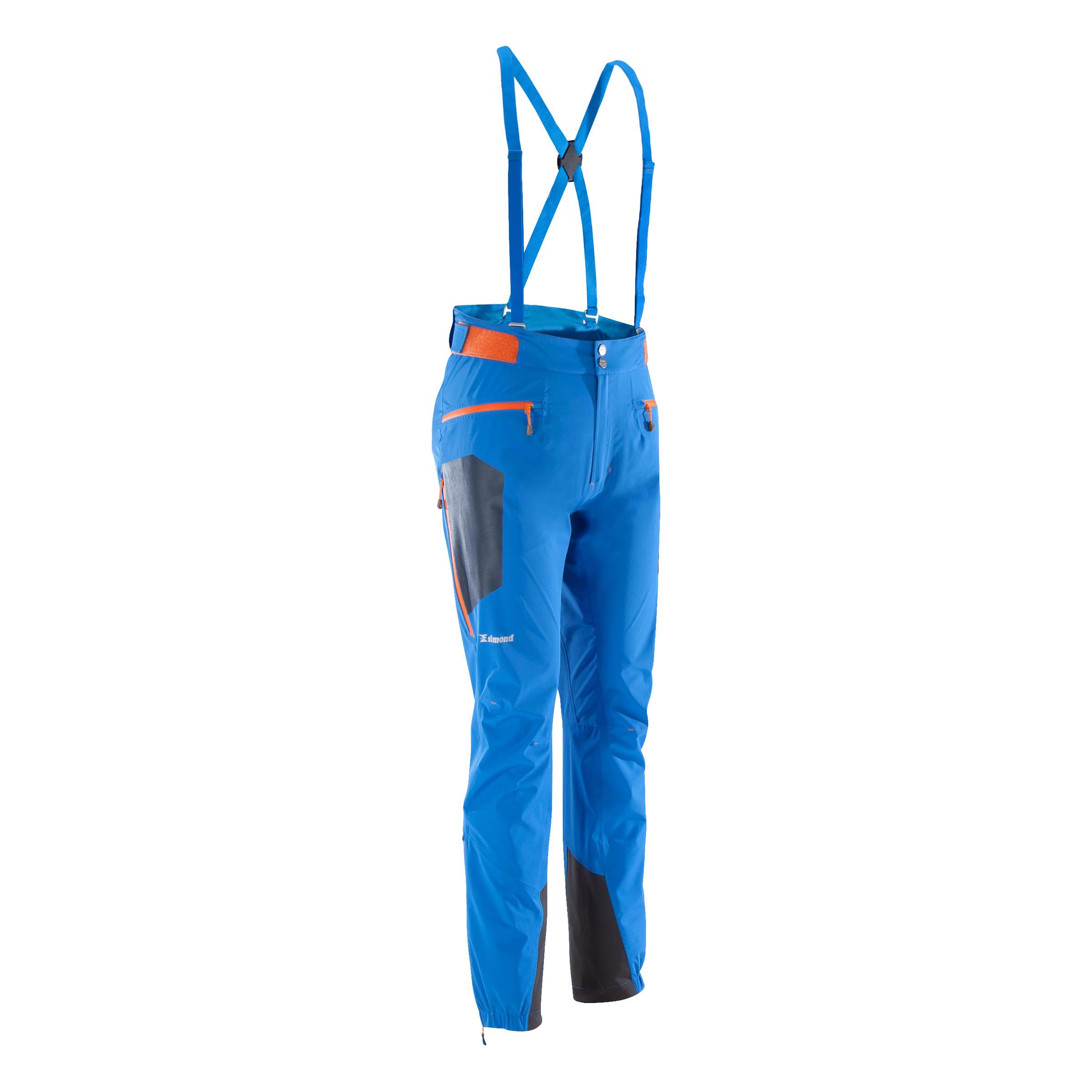 Pantalón de alpinismo CASCADE 2 Hombre AZUL