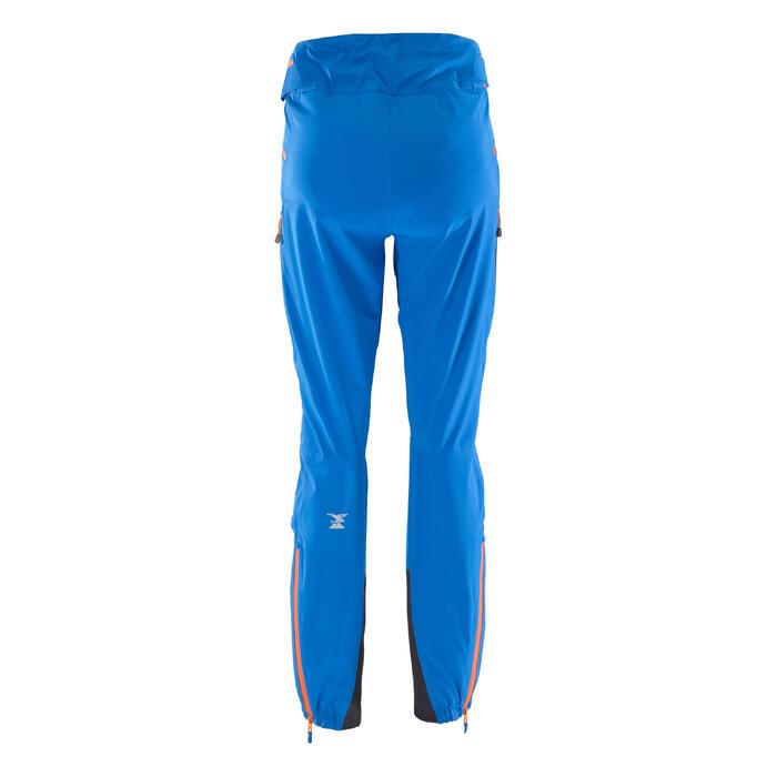 Pantalon d'alpinisme imperméable homme - CASCADE 2 BLEU