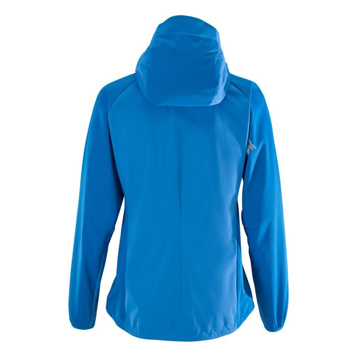 Softshelljacke Alpinism Light Damen blau