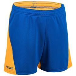 Volleyballshorts V100 Kinder blau/gelb
