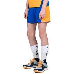 Volleybalbroekje jongens V100 blauw/geel