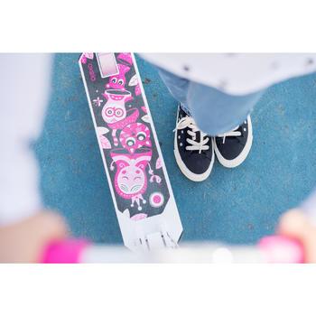 女童滑板車Mid 1 - 白色/粉紅色
