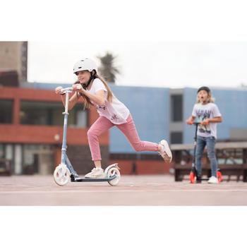 City-Roller Scooter Mid 7 mit Ständer grau/blau/weiß