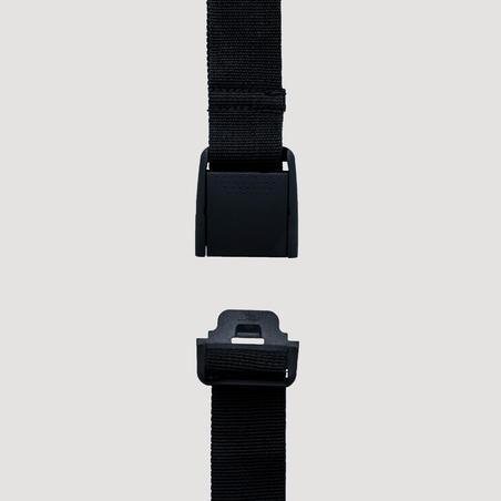 Cinturón de senderismo MH negro
