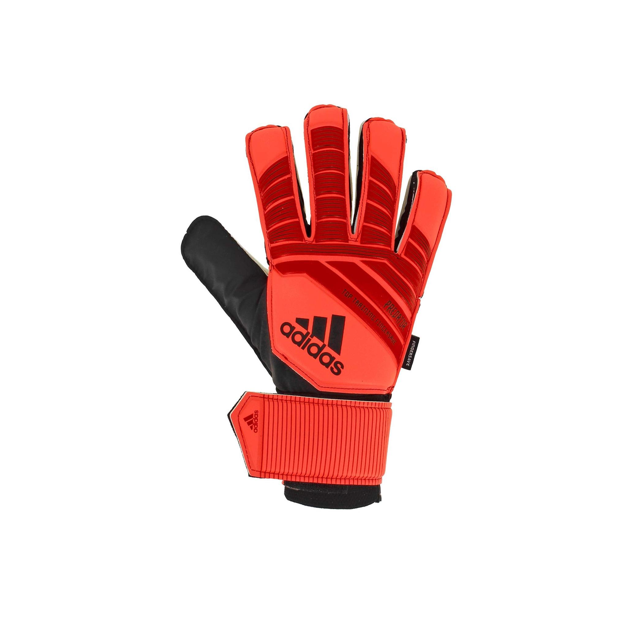 Adidas Keepershandschoenen Predator Top Training Fingersave rood