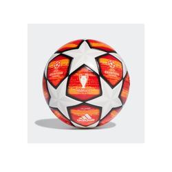Balón de fútbol Adidas Top Réplica Champions League Liga de Campeones 2018 / 2019 blanco naranja