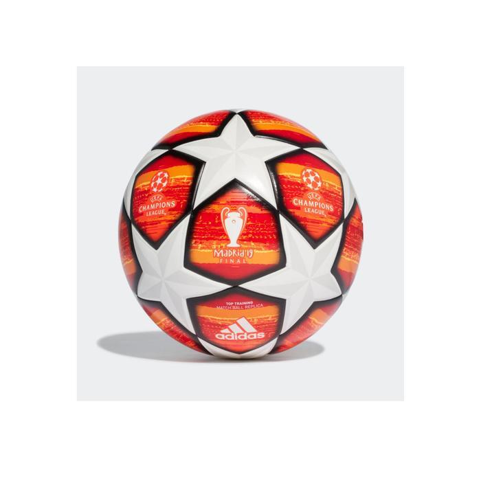 Balón de fútbol Adidas Top Réplica Champions League Liga de Campeones 2018    2019 blanco naranja 26b9720926015