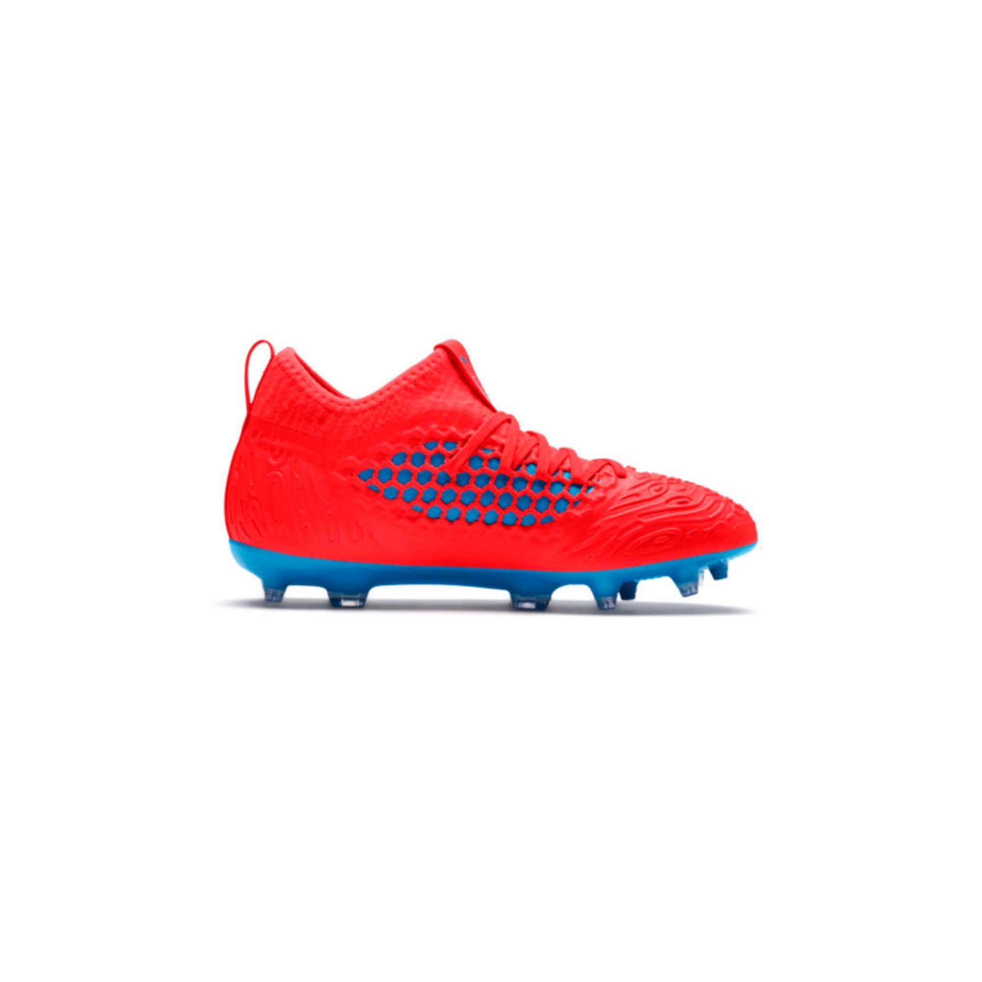 Puma Voetbalschoenen kind Future 19 3 FG rood