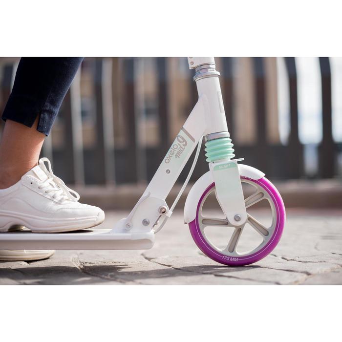 滑板車MID Play 9 - 白色/紫色