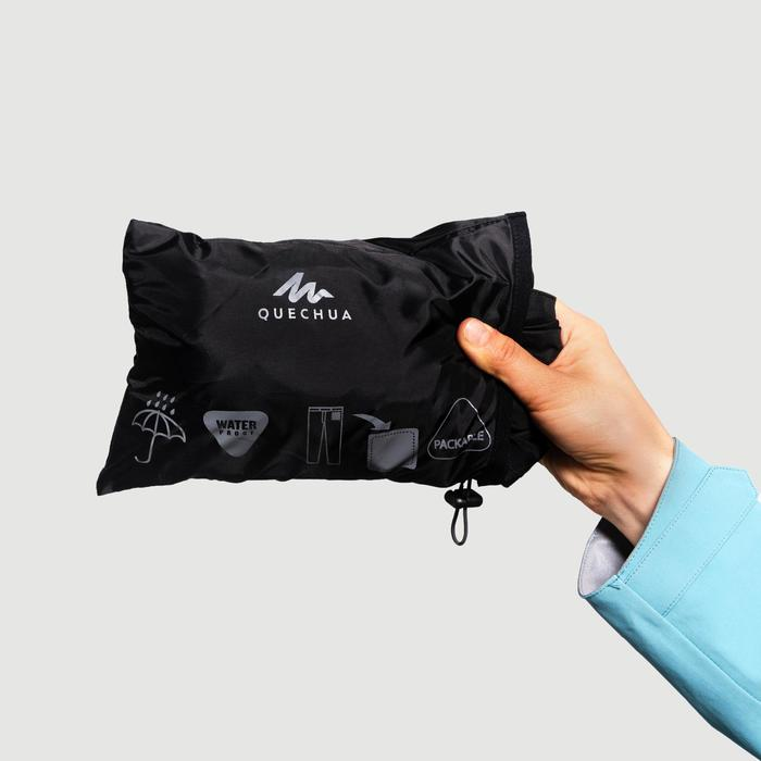 Regenhose Bergwandern MH500 Damen schwarz