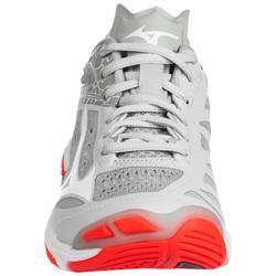 Zapatillas de Voleibol Mizuno Wave Lightning mujer blanco coral