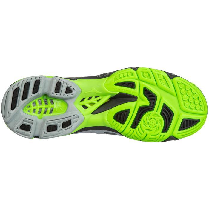 Heren volleybalschoenen Wave Lightning groen, zwart en grijs Mizuno