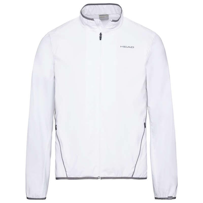 MEN WARM CONDITION RACKET SP APAREL Tennis - UK CLUB JACKET WHITE 19 HEAD - Tennis Clothes