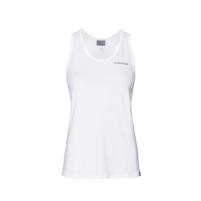 WOMEN WARM CONDITION RACKET SP APAREL Squash - UK CLUB TANK WHITE 19 HEAD - Squash Clothing