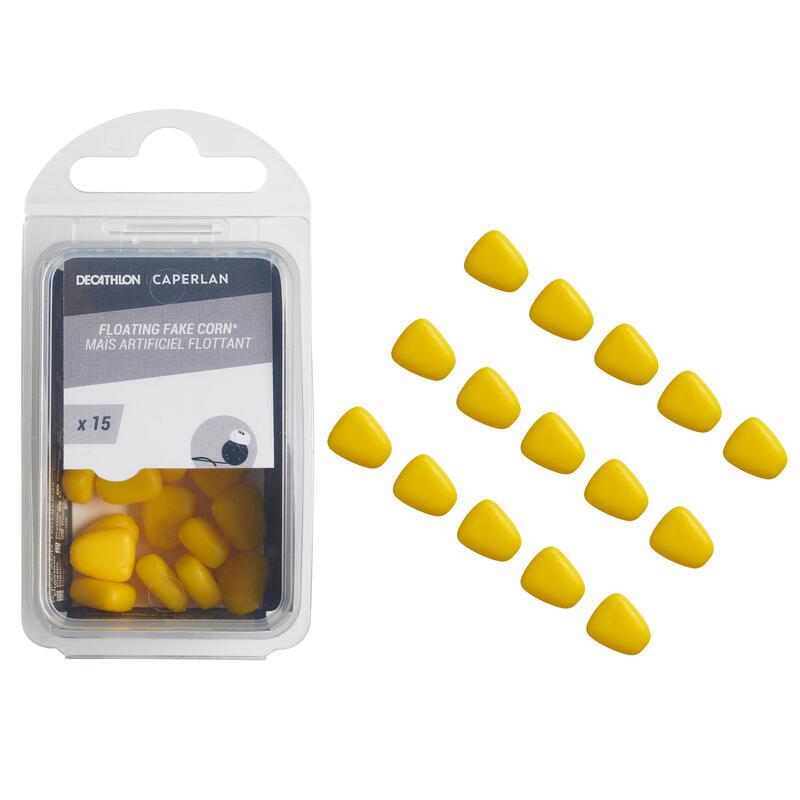 Carpfishing Fake baits Corn Yellow ×15