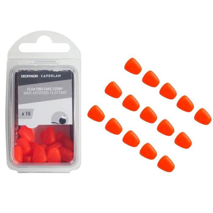 Pêche de la carpe Fake baits Corn orange X15