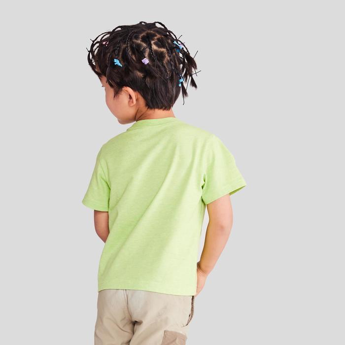 MH100 Children's Hiking T-shirt - Green