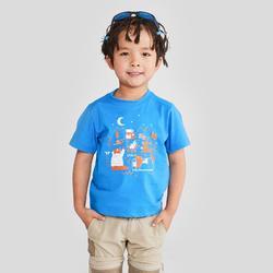 MH100 Children's Hiking T-shirt - Blue