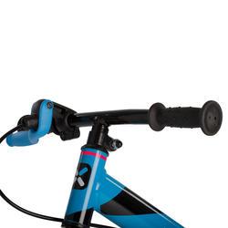 Loopfietsje 10 inch Run Ride MTB blauw - 163771